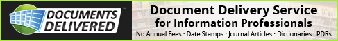 Documents Delivered - Info Professionals