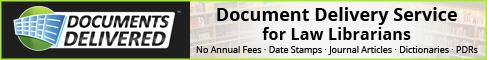 Documents Delivered - Law Librarians