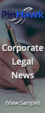 PinHawk - Corporate Legal News