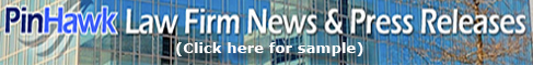 PinHawk Law Firm News and Press newsletter